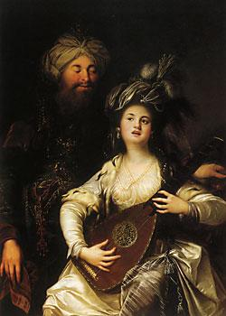 alman-barok-ressam-anton-hickelin-hurrem-ve-sultan-adli-tablosu-1780-osmanli-imparatorlugu-kanuni-sultan-1-suleyman