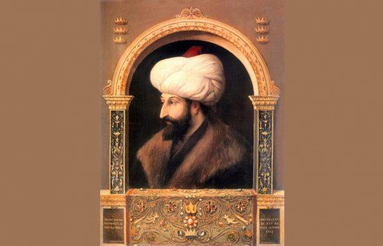Fatih Sultan Mehmet, II. Mehmed, Osmanlı İmparatorluğu, yedinci padişahı. Sarayi_Album yağlı Boya tablosu