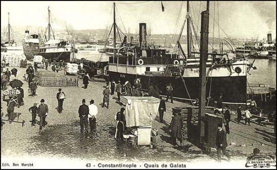 Galata Rıhtım, İlk Modern Rıhtımımız, Sultan Andülhamid, Eski İstanbul