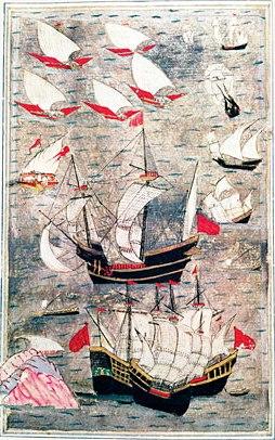 hint-okyanusundaki-osmanli-gemilerini-gosteren-bir-minyatur-16-yuzyil-bir-minyaturler-matrakci-nasuh-ottoman-bilgi