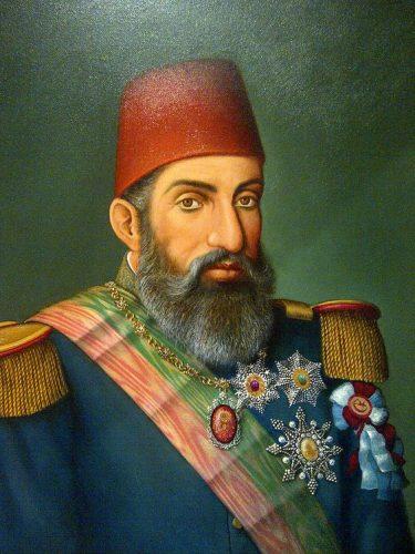 Osmanlı Devleti'nin 34. padişahı SULTAN ABDUL HAMID,OTTOMAN turquie turkey ottoman sultan abdul hamid