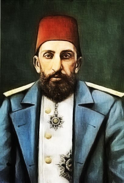 Imperial Majesty The Sultan Abdülhamid II Emperor Of The Ottomans Caliph Of The Faithful. He Was The Last Sultan To Exert Effective Control Over The Ottoman Empire