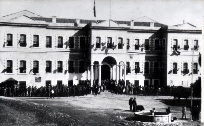 Konya Hükümet Binası, Sultan Abdülhamid Dönemi Yapıları