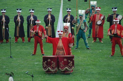 Mehterhane, Mehter Takımı, Mehteran Bölüğü MEHTER MARŞI Askeri Müze Mehteri Bando Osmanlı Marş