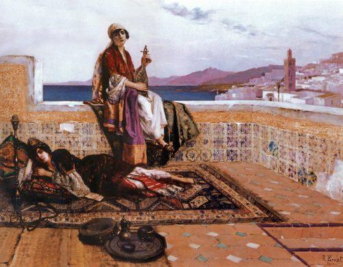 Osmanlı Kadın Bestekarlar - Musikişinas Kadınlar Kimdir. Osmanlı Sarayı Harem Resim ve Görüntüleri Ottoman Empire Palace