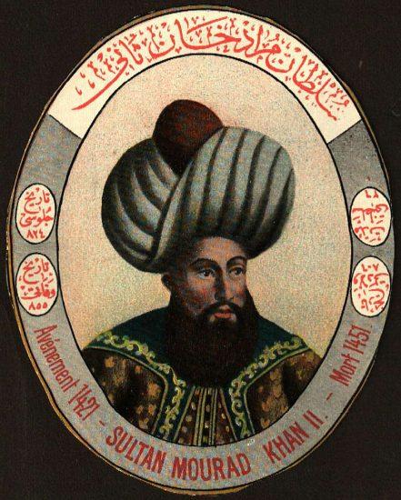Osmanli Padişahı, II. Murat Dönemi, Özellikleri Kişiliği ve Yaşamı Osmanlı padişahları altıncısı, Sultan 2. Murad Han,