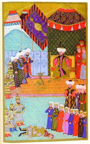 Osmanli Padişahı, II. Murat Dönemi, Özellikleri Kişiliği ve Yaşamı Osmanlı padişahları altıncısı, Sultan 2. Murad Han, Minyatürü