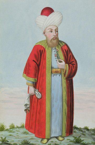 Osmanli Padişahı, II. Murat Dönemi, Özellikleri Kişiliği ve Yaşamı Osmanlı padişahları altıncısı, Sultan 2. Murad Han, John Young tarafından yapılmış resmi