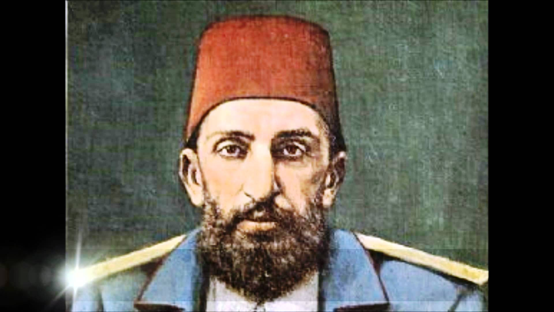 Padişah 2.Abdulhamid han Osmanlı Sultanı İkinci. Abdulhamit İslam Birligi Halifesi