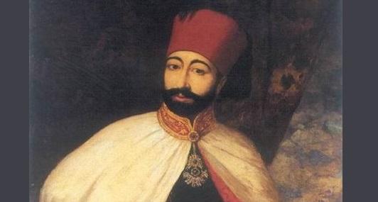 Sultan 2. Mahmud tugra II. Mahmud Osmanlı 20 Temmuz 1785-1 Temmuz 1839 30. Osmanlı padişahı 109. İslam halifesi foto.
