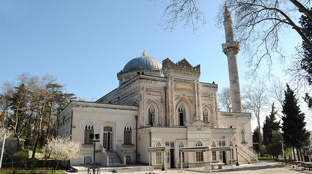 Beşiktaş  Yıldız Hamidiye Camii. Sultan Abdülhamid Dönemi Yapılan Osmanlı Camileri