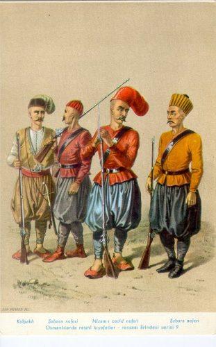 Nizam-i-Cedid Askerleri Sultan 3. Selim TUGRA, Arması Simgesi. 20. İslam halifesi ve 31. Osmanlı padişahı.  Osmanoğlu soyu