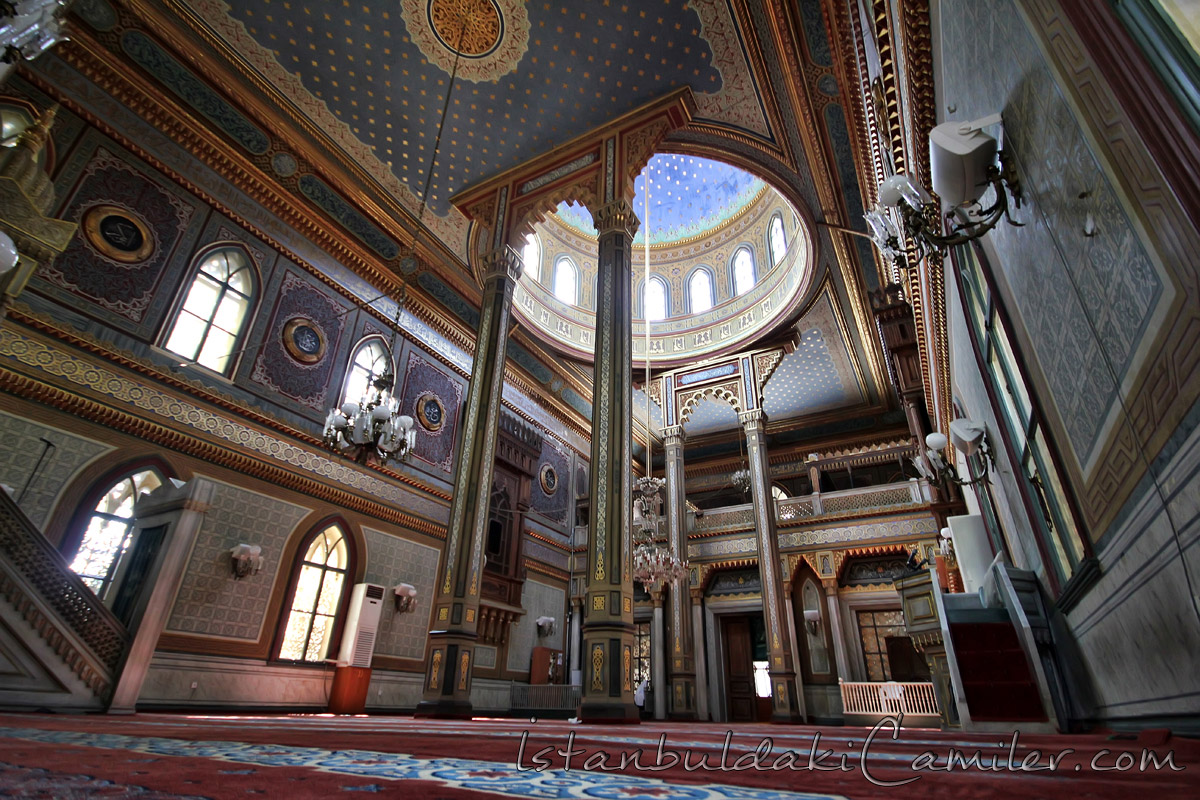 yildiz-hamidiye-camii-ic-mekan-fotograf Yıldız Hamidiye Camisi Yıldız Sultan Abdülhamid Mosque Istanbul