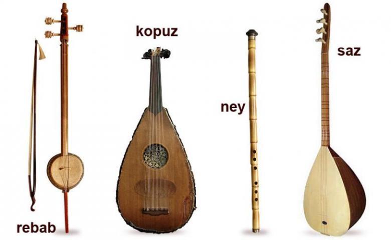 Kullanılış Alanlarına Fonksiyonlarına Göre Çalgıların Sınıflandırılması Kopuz Ottomans Empire Türk Musiki Osmanlı Klasik Turk Müziği Tüm Konser Toplu Müzik Enstrümanlar çeşitleri