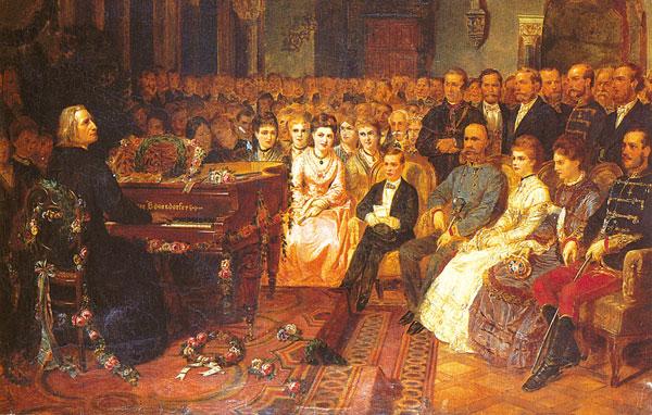 Liszt At The Piano Meşhur Besteci Beste Klavsen Harpsichord Musical İnstrument ünlü Için Kuyruklu Tarihi Eski Hepsikord Tarihi İlk Piyanolar Atası Kuyruklu Piano