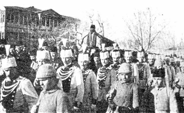 Sultan II.Abdülhamidin Cenaze Merasimi 1918