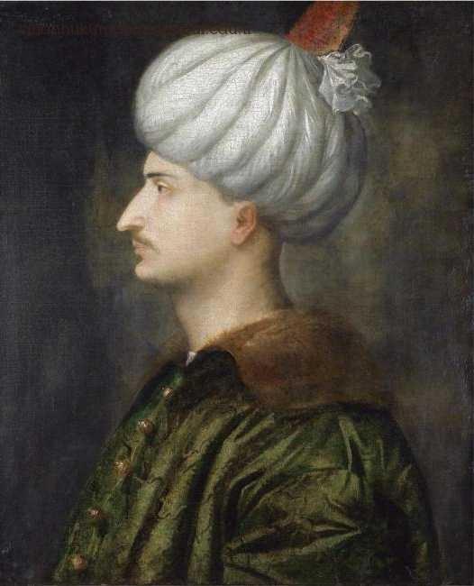 Kanuni Sultan Süleyman Venedikli Ressam Tiziano Vecellionun Atolyesinden 538343