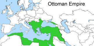 1812 Yılı Bükreş Antlaşmasına Göre Osmanlı Devleti Sınırları. II. Mahmud Osmanlı Padişahı Ve İslam Halifesi. Ottoman Empire