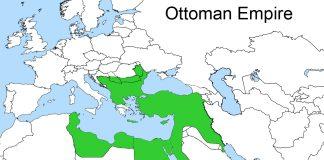 1830 Fransanın Cezayiri Işgali Sonrası Ottoman Empire Osmanlı Devleti Sınırları. II. Mahmud Osmanlı Padişahı Ve İslam Halifesi