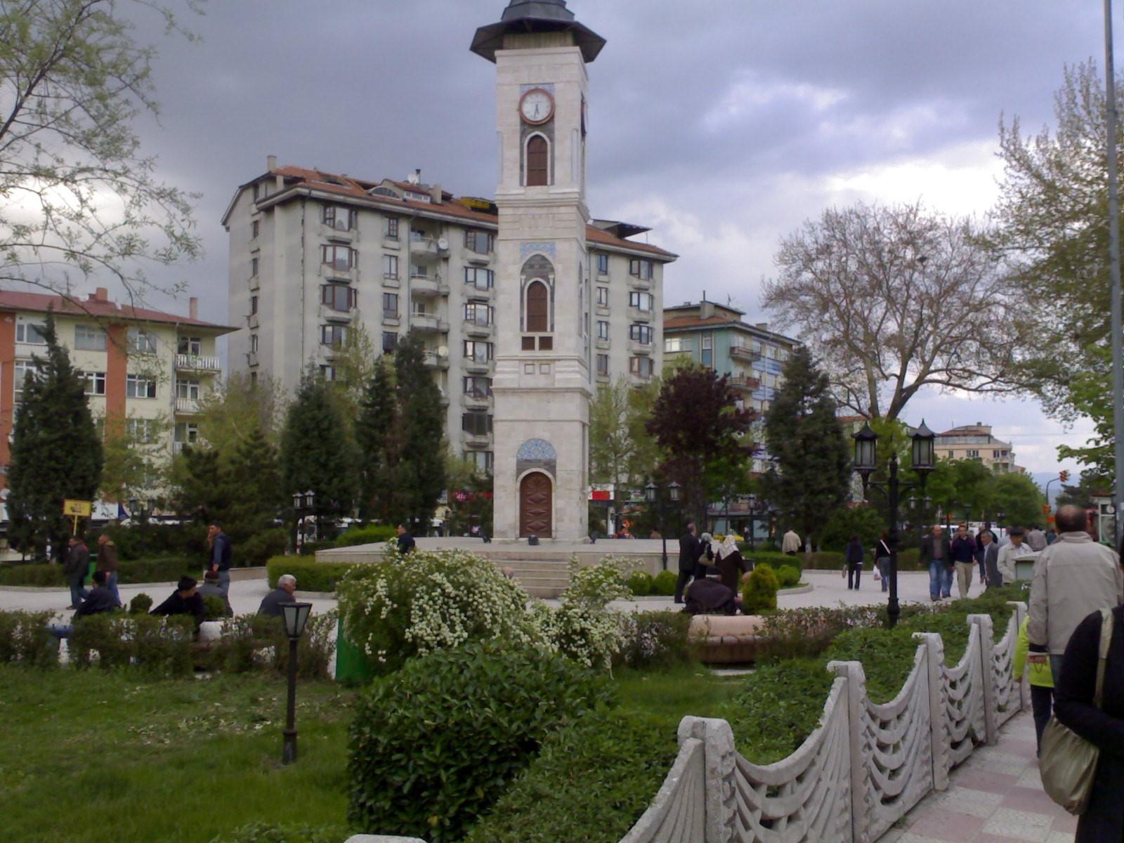 28 Kütahya Saat Kulesi. Osmanlı Eserleri. Padişah İkinci Sultan Abdulhamid Han Muhteşem Saat Kuleleri