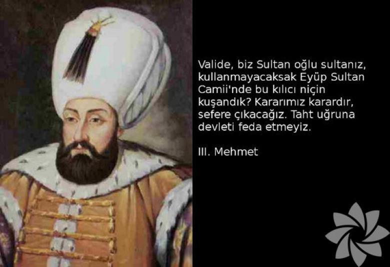 III. Mehmed ile ilgili görsel sonucu