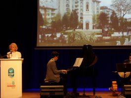 45. Sultan Abdülhamid Han Anma Etkinlikleri Eyüp Belediyesi Kültür Sanat Merkezi Müzikleri Tanıtımı Konseri Piyano Yaylı Bendir Solist Tambur Piyano PiyanoTürk