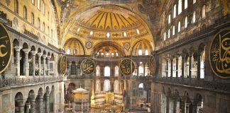 Abdülmecid Dönemi İstanbul Ayasofya Camii Tamiratları .Hagia Sophia Aghia Sophia Ayasofya Istanbul Turkey Photograph