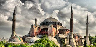Abdülmecid Dönemi İstanbul Ayasofya Camii Tamiratları.Hagia Sophia Aghia Sophia Ayasofya Istanbul Turkey Photographs