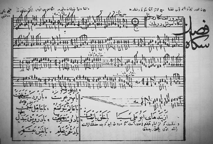 Ali Ufki Nota Yazısı Bobowski Klasik Türk Musikisi Bestekârı Santûrî Müzikolog Dergi Sâz Söz Adlı Nota Güfte Mecmuası Müellifi