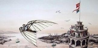 Evliya Çelebi Hezarfen Ahmed Çelebi Kimdir Yaşamı Kişiliği Hakkında Önemli Ansiklopedik Türk Havacılık Tarihiuçmayı Başaran Ilk Insan Kim Mucit Maketi