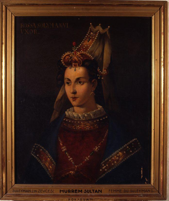 Hürrem Sultan Kimdir Osmanlı Sarayı Valide Sultanı Tarihe İmza Atan Haseki Kadın Kısaca Hayatı Nedir. Padişah Portreleri Ve Resim Koleksiyonu Tablo Osmanlı Padişahı