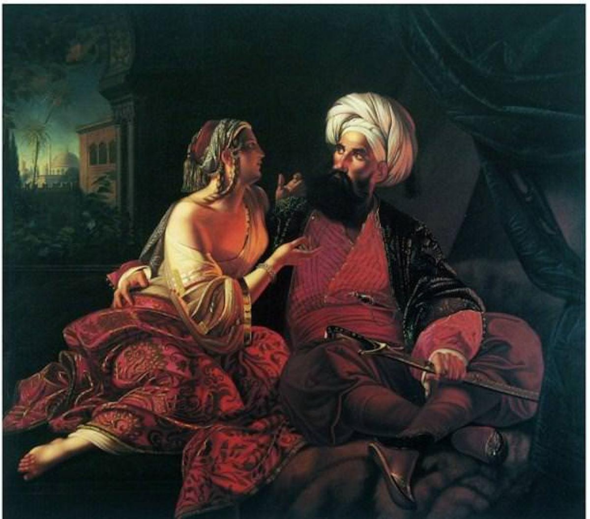 Haremden Görüntüler Türk Kızı Yağlı Boya Tabloları Osmanlı Sarayı Foto Foto Tarihi Eski Cariye Kadın Görseli Padişahı Sultanları Saray Haremi Ailesi Eşleri Gözde İkbal