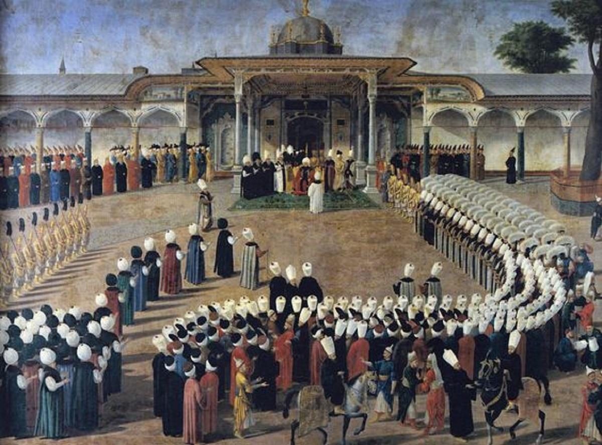 III. Selim Dönemi İsyanları Ve Osmanlı Devleti Reform Karşı Hareketler Topkapı Sarayı Gate Of Felicity Topkapı Palace