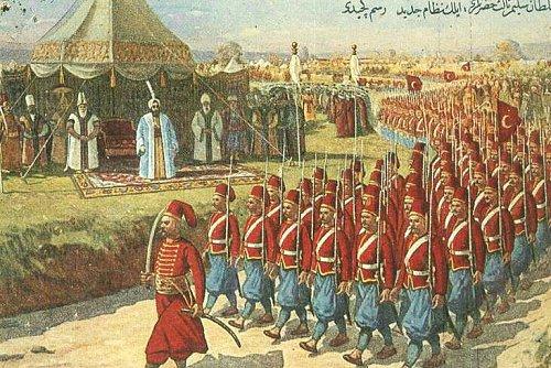 III. Selim Osmanlı Avusturya İlişkileri Savaşları Ve Anlaşmaları Sultan Selim III And The Parade Of The Nizam Al Jadid Army Nizam ı Cedid Ordusu