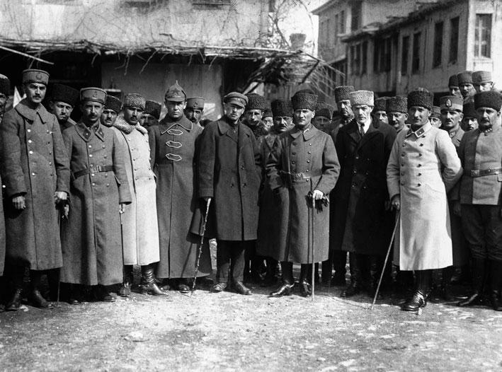 Kısaca Osmanlı Padişahlık Saltanatın Kaldırılması Özet Konu Anlatımı Atatürk Western Front 31 March 1922 Bis