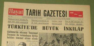 Kısaca Tanzimat Fermanı Nedenleri Sonuçları Özet Maddeler Halinde Osmanlı Gazete Tanzimat Fermanı Haberi