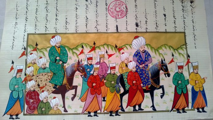 Minyatür Osmanlı Resim Sanatı Resim Foto Images