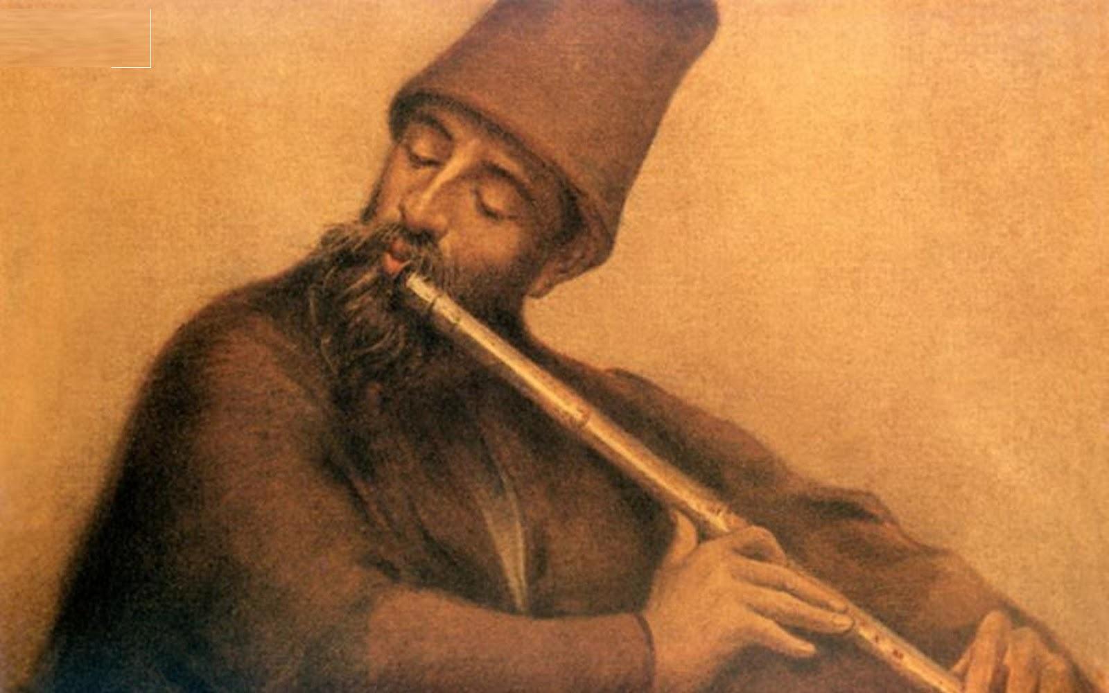 Neyzen İsmail Dede Hamamîzâde İsmail Dede Efendinin Daha Genç çağdaşı Olan Neyzen İsmail Dede Zikir Dervişler Mevlevihane Sema Osmanlı Musikisi