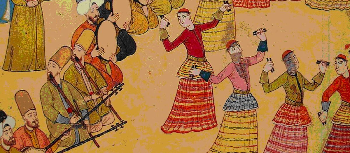 Osmanlı Devleti Musikisi Müziği. Osmanlılar Saray Müzikleri. Ottoman Empire Music Palace Harem.Ottomano Sultan Çalgı Resimleri Osmanli Haremi Hakkinda