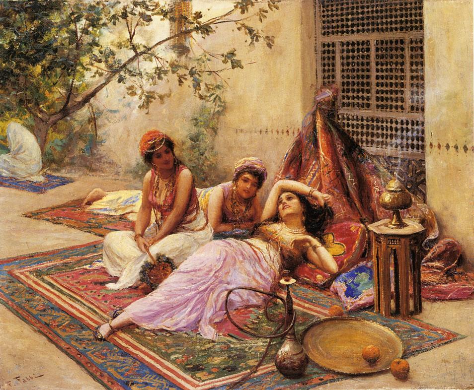 Osmanlı Haremi Gerçek Yüzü Bilgileri Ve Görselleri Osmanlı Ve Saray Haremi Nedir Bilinmeyen Ve Merak Edilen Bilgileri Ve Resimleri Fabio Fabbi Italian Painter1861 Girls Of The Harem