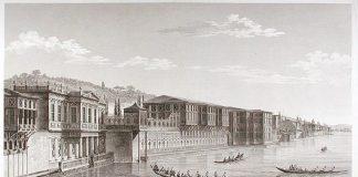 Osmanlı Padişahı III. Selimin Kızkardeşi Hatice Sultanın Sarayı Tablosu Hatice Sultan Palace