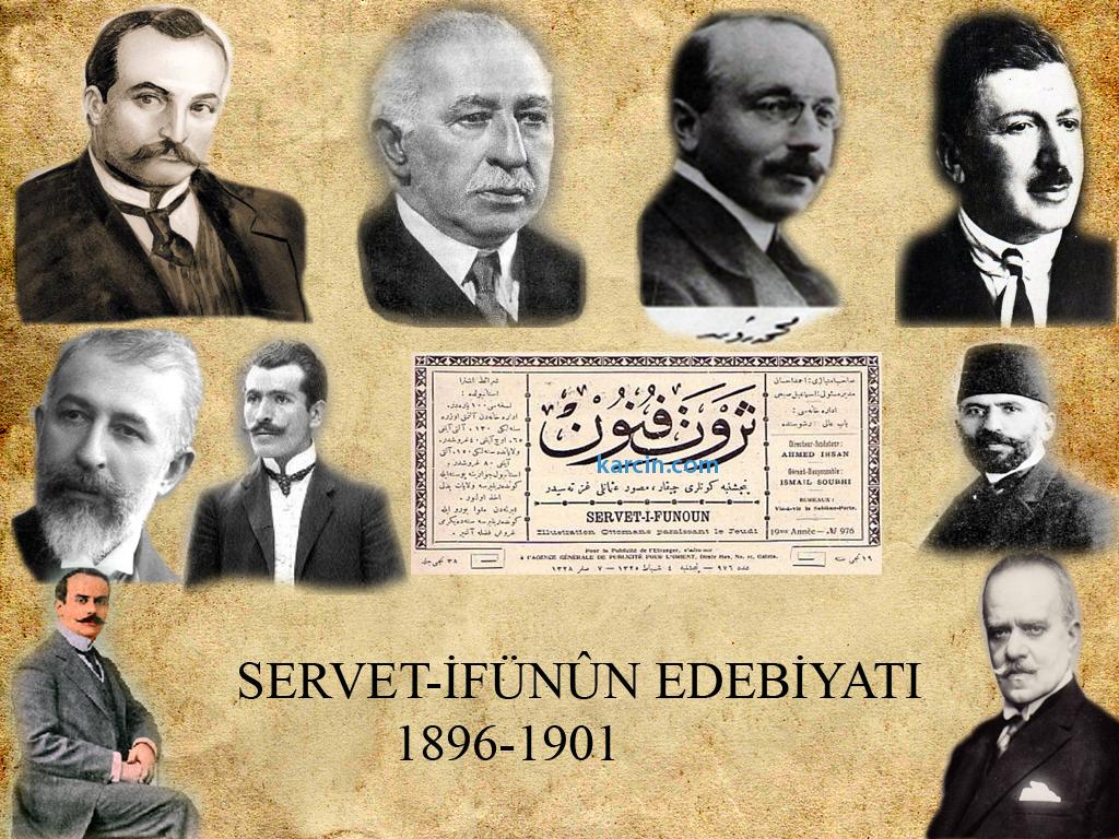 Osmanlı Servet I Fünun Edebiyatı Edebiyat ı Cedide Ilk Ve Tek