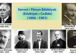 Servet I Fünun Edebiyat ı Cedide Sanatçıları. Yazarları şairleri Önemli Kişileri Serveti Funun Sanatcilar