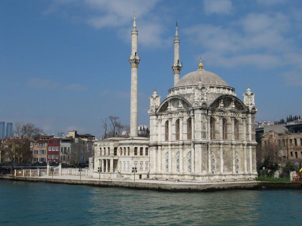 Sultan Abdülmecid Büyük Mecidiye Camii Ortaköy Camisi İstanbul Boğaziçi Beşiktaş Ilçesi. Ortakoy Ortaköy Büyük Mecidiye Camii. 1