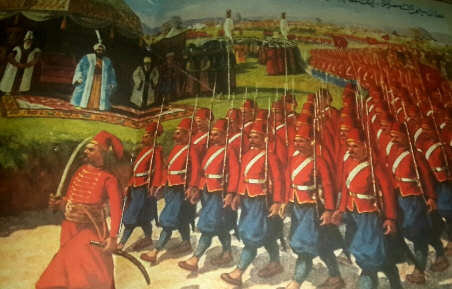 Sultan Selim 3. And The Parade Of The Nizam Al Jadid Army Nizam ı Cedid Ordusu