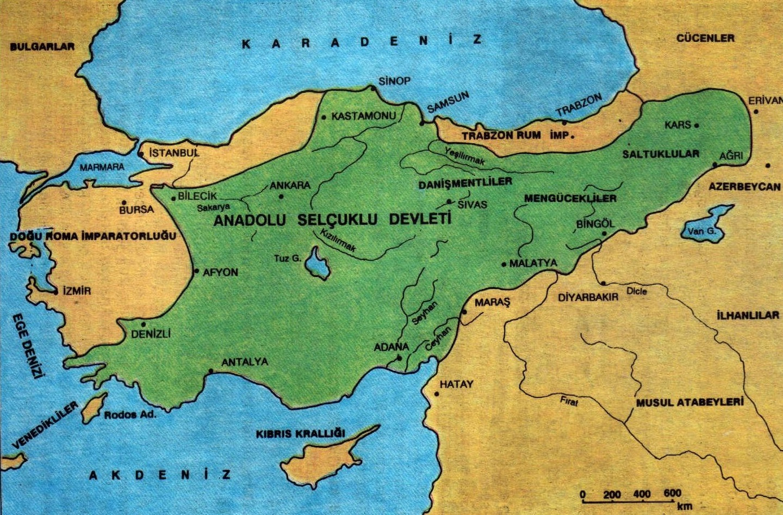 Türkiye Selçuklu Devleti Türkiye Selçukluları Türk Devletleri Anadolu