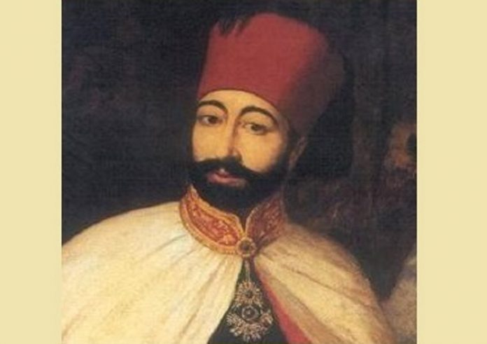 Sultan 2. Mahmud Tugra II. Mahmud VESİKALIK