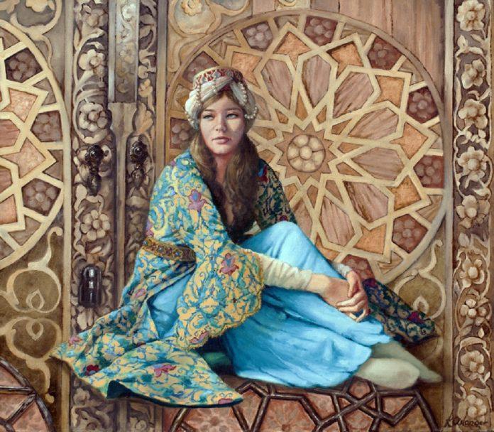 Fatma Gevheri Osmanoğlu Kimdir Sultan Abdülaziz Oğlu Şehzade Mehmed Seyfeddin Efendi Kızı Kadın Besteci Musikişinas Sarayı Harem Resimi