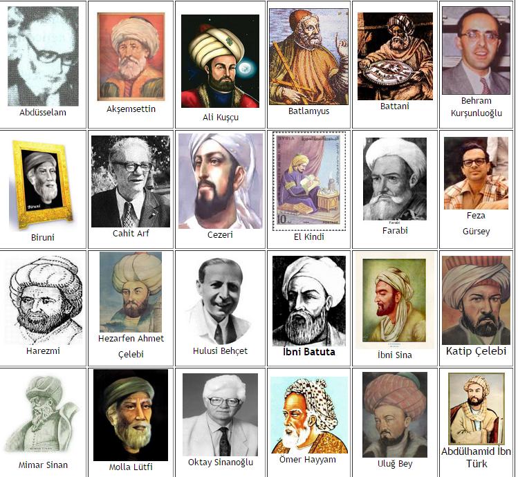 ünlü Türk Bilginleri Osmanlı Alimleri Kimdir Ilk Ve Tek Osmanlı