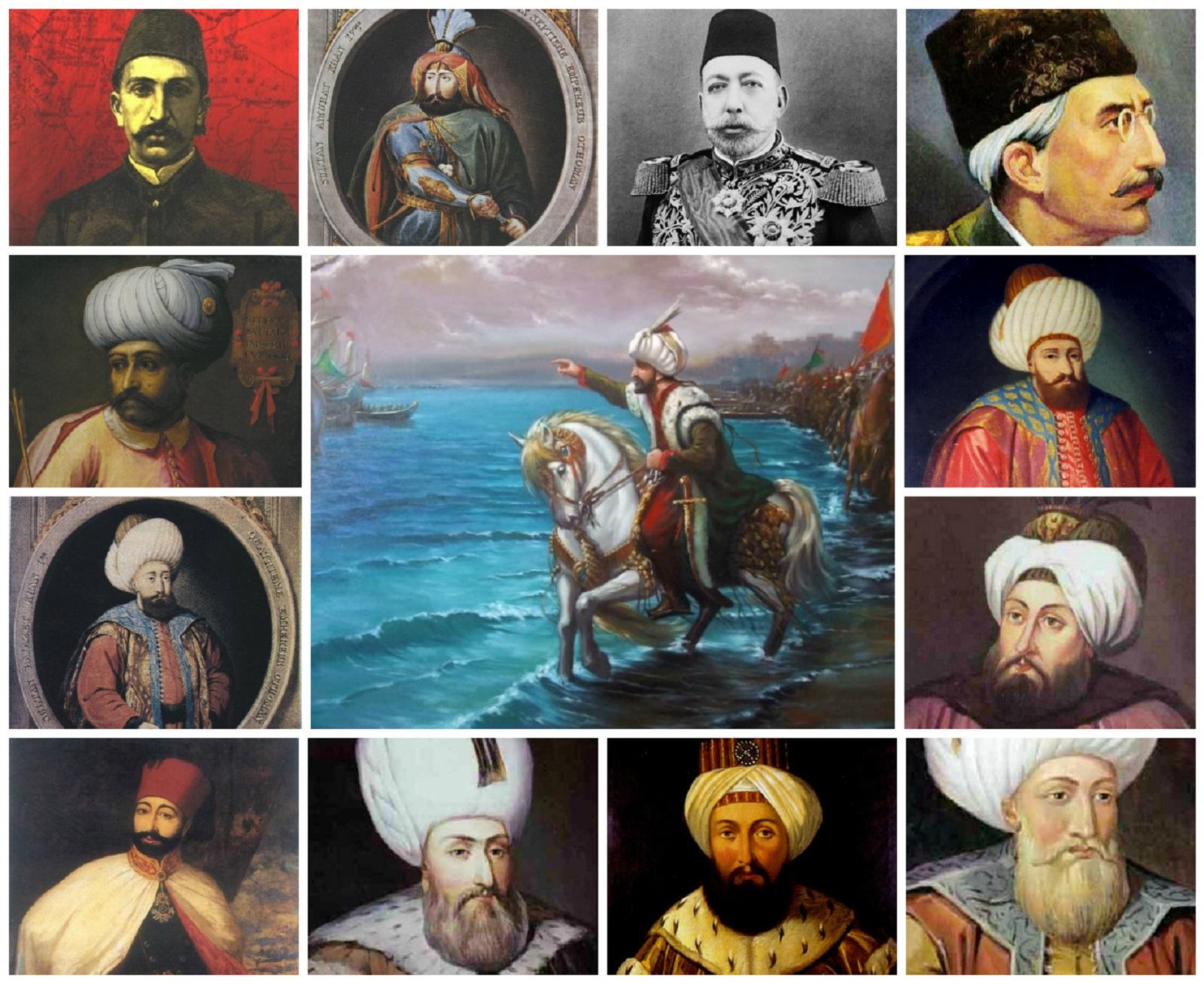 Tüm Osmanlı Padişahları Eşleri Hanım Haseki Sultanlar Valide Sultanları Listesi Saltanat Yılları